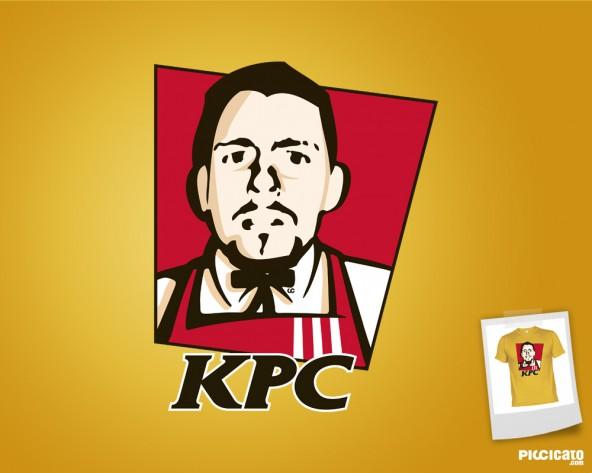 Frontal de Camiseta: Kentucky Pérez Chiken