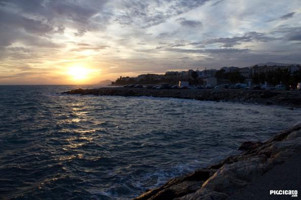 Puesta de Sol en Villajoyosa