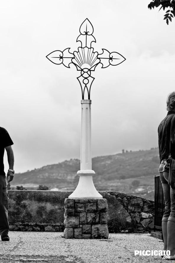 Cruz del cementerio de Guadalest