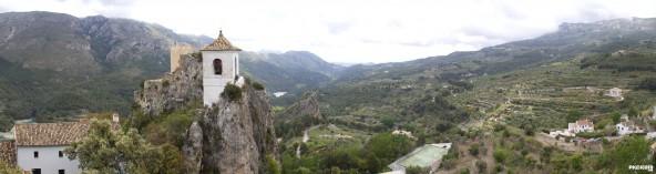 Panorámica de Guadalest