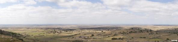 Panorámica vista de Trujillo